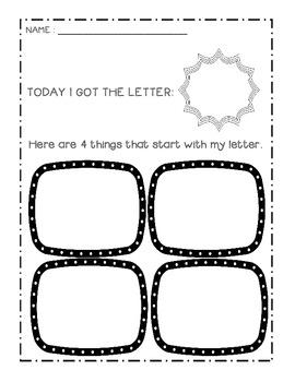 Alphabet Centers: Printable Alphabet Games & Alphabet