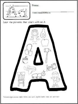 Alphabet Coloring Pages for Phonics Reinforcement