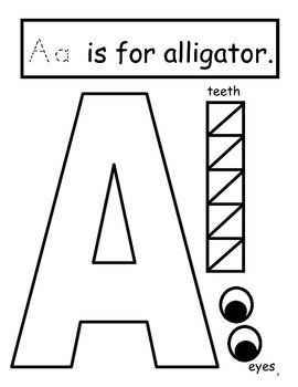 Alphabet Craft: Transform each letter into an animal! by