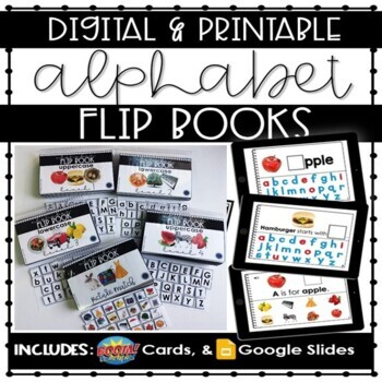 Alphabet Flip Books A-Z: Adapted Books with Real Photos by