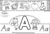 Queensland Beginners Font Alphabet Teaching Resources