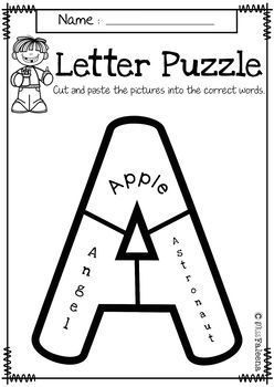 Alphabet Letter Puzzles Bundle (Uppercase and Lowercase