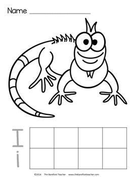 Alphabet Handwriting Practice Sheets {Upper & Lower Case
