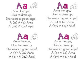 Alphabet Poems A-Z for Poetry Notebooks/Journals by