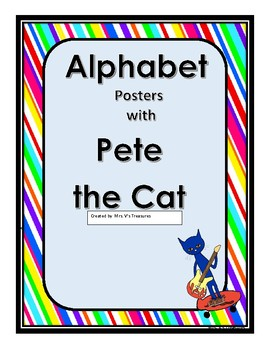 pete the the cat posters worksheets