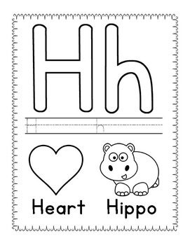 Alphabet Tracing, Coloring and Playdough Mat Printables by