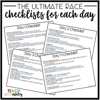 Ultimate Race Decor & Implementation by Teach With Ashley