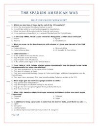 American Imperialism Worksheet - Calleveryonedaveday