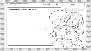 Amor y Amistad (Imágenes, Frases, Actividades) by