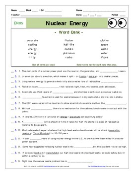 nuclear power plant diagram worksheet narva winch switch wiring energy worksheets teaching resources teachers pay an eyes of nye en05 ans sheet
