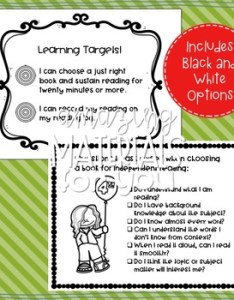 Anchor charts for choosing just right books th grade also tpt rh teacherspayteachers