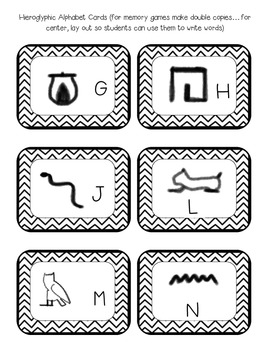 Ancient Egypt Activity Pack! by The Hands On Teacher in