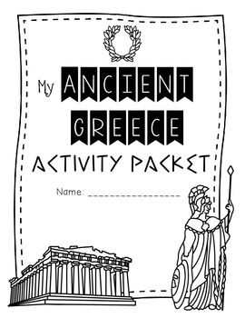 Ancient Greece {Activities, Worksheets, & Handouts} by