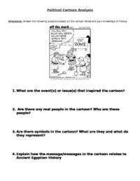 Political Cartoons Analysis Worksheet | cartoon.ankaperla.com