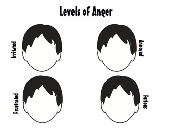 Anger Management Activities for Group or Individual
