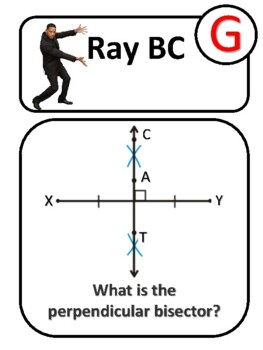 Angle & Perpendicular Bisector Scavenger Hunt by EZPZ