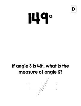 Parallel Lines Cut by a Transversal/ Angle Relationships