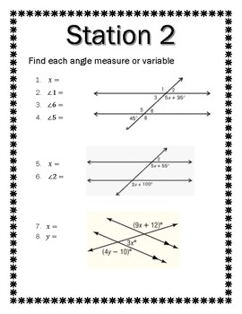 Angle Relationships in Parallel Lines and Triangles