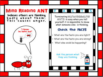 Angry Ants Cognitive Behavioral Therapy Cbt Group For