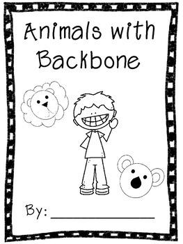Animals with Backbone Book (Vertebrates)- Cut-Paste