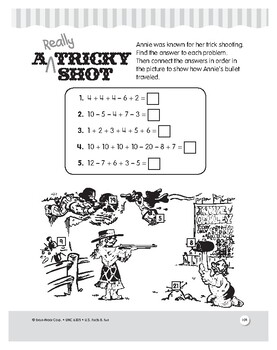 Annie Oakley: Reading and Math Comprehension Unit for