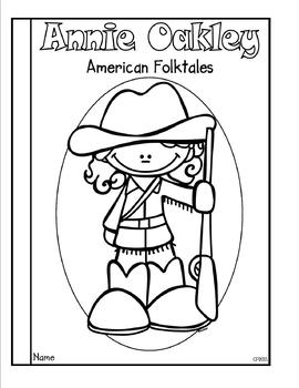 Annie Oakley Tab Booklet Distance Learning by Classroom