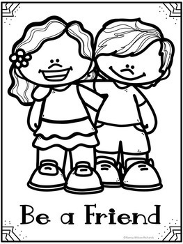 bullying coloring pages # 4