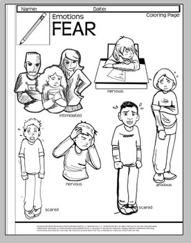 Anxiety Poem and Response Handout-Poems and Pictures
