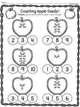Apple Activities & Johnny Appleseed Activities (with