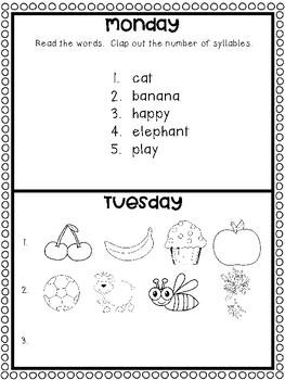April Homework Calendar: A Month of Homework for