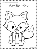 Arctic Animals Coloring Pages Worksheets & Teaching