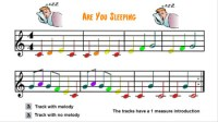 Are You Sleeping (Boomwhacker) by Ladd's Music Resources   TpT