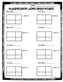 Area Model Division Worksheet Teaching Resources