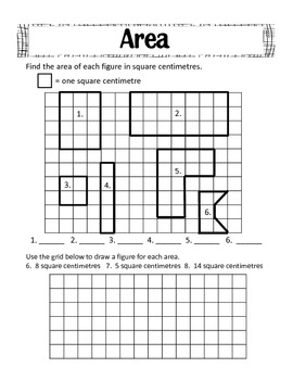 Area and Perimeter Freebie by Laugh Together Learn