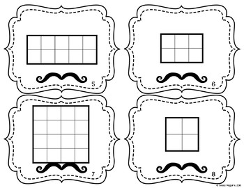 Area and Perimeter Tiling Unit Squares Task Cards by Tessa