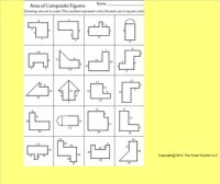 Area of Composite Figures Worksheet by Kevin Wilda | TpT