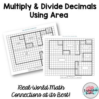 Multiply Divide DECIMALS Task Cards by tarheelstate