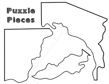 Arizona Regions: A cut and paste activity by Resources to