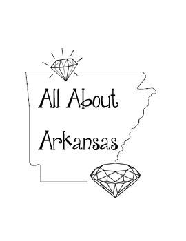 Arkansas Lapbook/Interactive Notebook. Geography. US