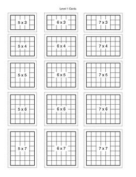 Array Break Multiplication Worksheet By Mr Readys Class