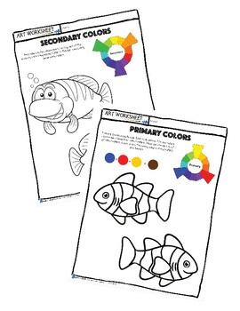 Art Color Theory: Primary & Secondary Color + Brown