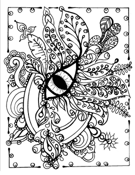 relaxing coloring pages # 8