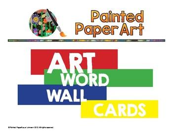 Art Room Word Wall Art Techniques Classroom Stuff Pinterest