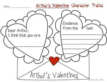 Arthur's Valentine Literacy Activities by Miss Clark's