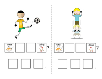 Asking Questions: Interactive book for