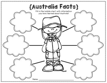 Australia Writing Papers (A Country Study!) by Emily Bynum