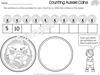 Australia Activities for Kindergarten: Australian Animals