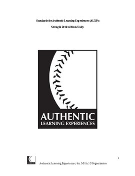 Authentic Learning Experiences: Standards by Authentic