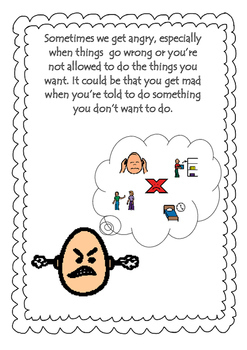 Social Story, NO HITTING with Social Skill Activities. by
