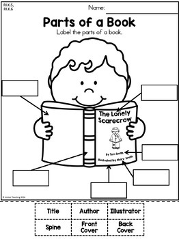 Autumn Kindergarten No Prep Language Arts Worksheets by
